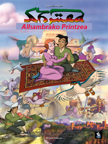 Ahmed, Alhambrako printzea